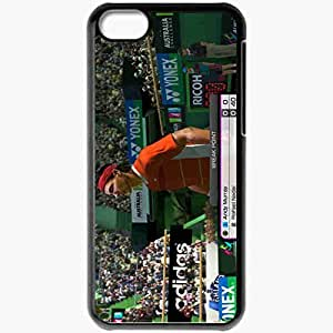 Personalized iPhone 5C Cell phone Case/Cover Skin Virtua Tennis 4 Black