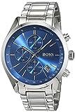 Hugo Boss Grand Prix Chronograph 1513478 Silver Men's Quartz Watch