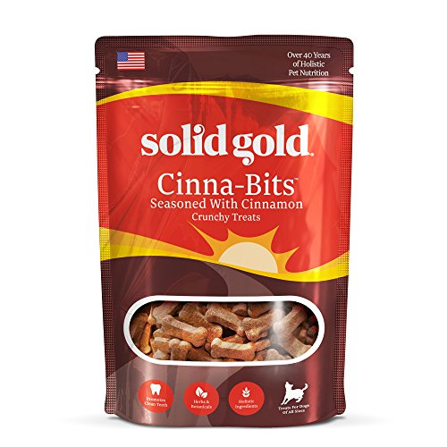 Solid Gold Cinna-Bits Biscuits, Bite-Size Holistic Dog Treat, All Ages, All Sizes, 2.5 lb Bag