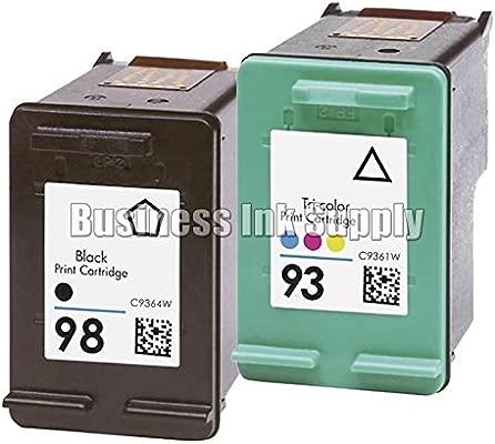 DS 2 Pk reciclados HP 98 cartucho de tinta HP 93 HP98 HP93 HP 98 ...
