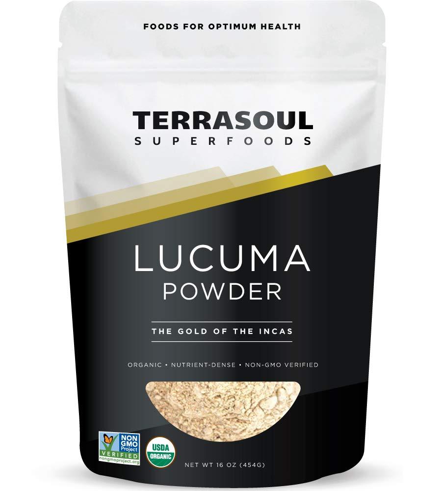 Terrasoul Superfoods Lucuma Powder Organic, 16 Ounces (Pack of 1)