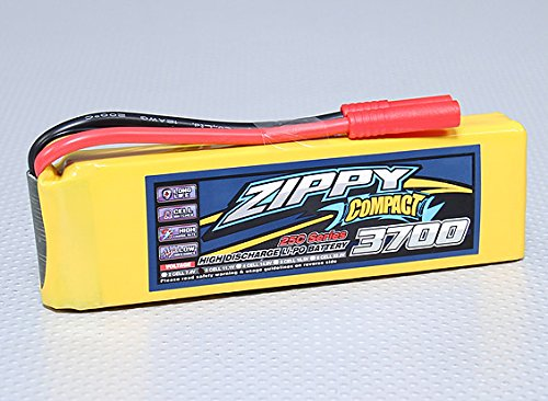 Zippy Compact 3700mAh 3S 25C Lipo Pack ()