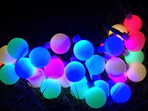 Serie di luci da leds bohmain catene luminose ad energia solare