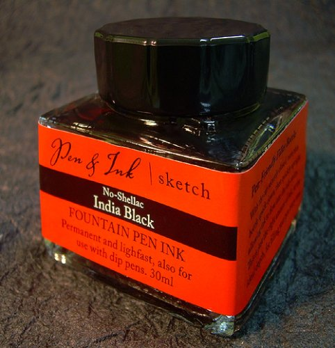 Pen & Ink No-Shellac India Ink for Fountain Pens by FineArtStore