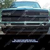 93 chevy front grill - APS 88-93 Chevy C/K Pickup/92-93 Blazer/Suburban Black Phantom Billet Grille Grill
