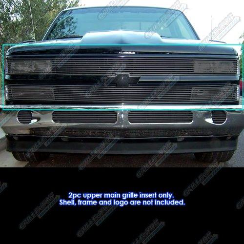 - APS 88-93 Chevy C/K Pickup/92-93 Blazer/Suburban Black Phantom Billet Grille Grill