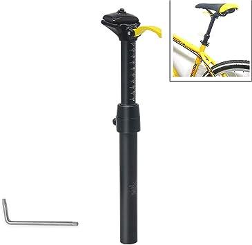 Tija De Sillín Bicicleta MTB Cuentagotas De Altura Ajustable 30.9/31.6 * 375mm Poste De Asiento De Control Remoto Manual Tubo De Asiento De Bicicleta De Viaje De 100 Mm,30.4mm: Amazon.es: Deportes y