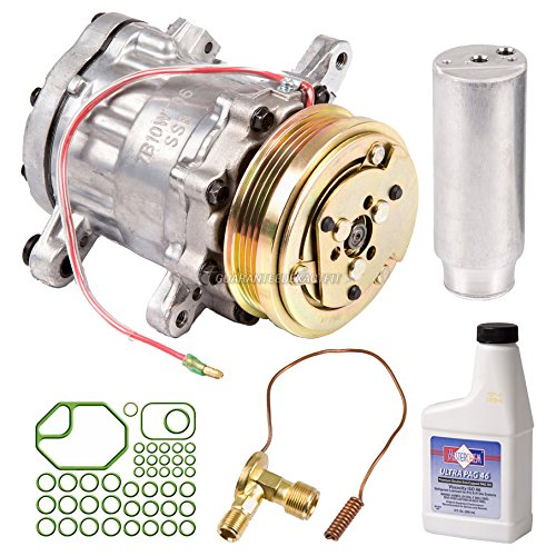 New AC Compressor & Clutch With Complete A/C Repair Kit For Geo Metro - BuyAutoParts 60-81198RK - Metro Geo A/c Compressor