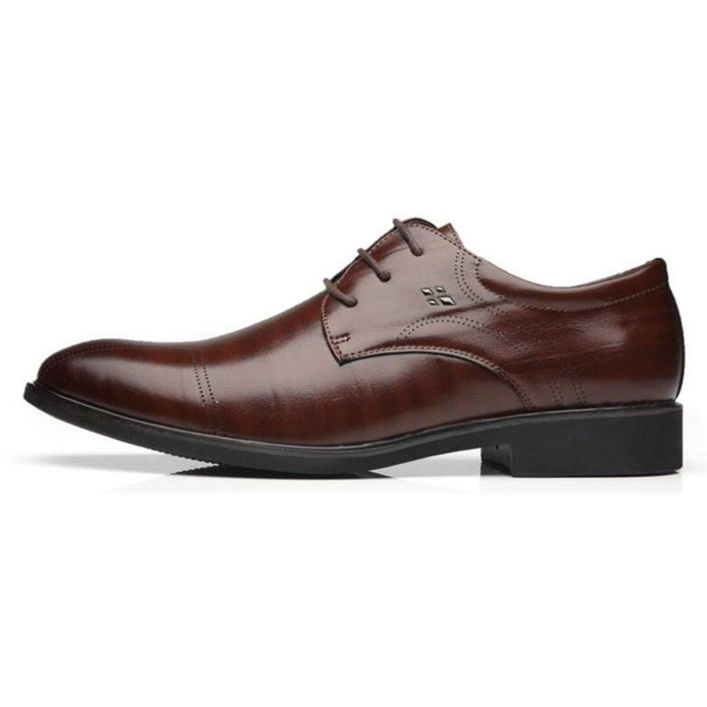 Phil Betty Mens Business Dress Shoes Rubber Outsole Comfortable Oxfords Shoes by Phil Betty (Image #3)