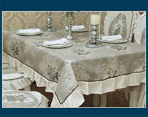 TOYM-Modern high-end European luxury fashion three-dimensional embroidery lace tablecloths