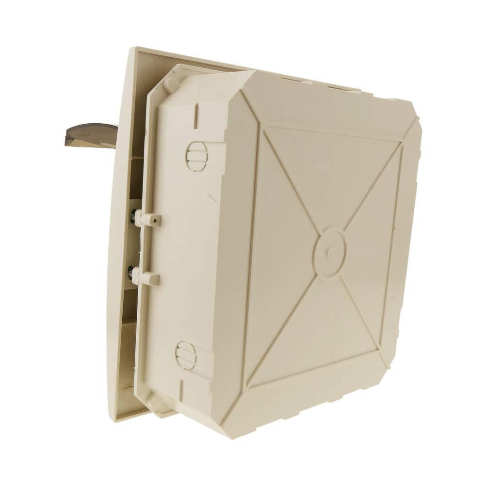 Bo/îte /électrique SPN 8M IP40 plastique ABS encastr/é Cablematic