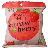 Freeze Dried Strawberry Healthy Fruit Snack Wel-B Brand Net Wt 22g (0.78oz) x 3 bags