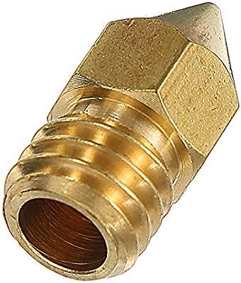 ILS - 10 Piezas 1.75mm 0.4mm Cobre Zortrax M200 Boquilla para ...