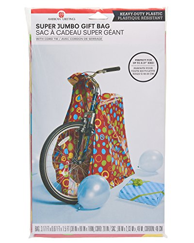 American Greetings Plastic Gift Bag Multi Colored