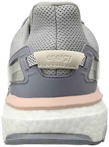Adidas Kvinna Energiökning 3 W Kvinnor Löparskor Mitten Grå S14 / Mörk Marinblå / Ånga Rosa F16