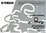LIT-11626-24-09 2011 Yamaha XV19 Raider Roadliner Stratoliner S Motorcycle Owners Manual