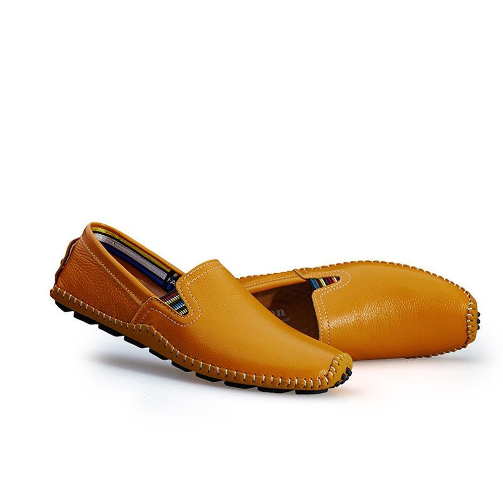 Mocasines Casuales de los Zapatos de Cuero de los Hombres del Verano (24.0-27.0cm): Amazon.es: Zapatos y complementos