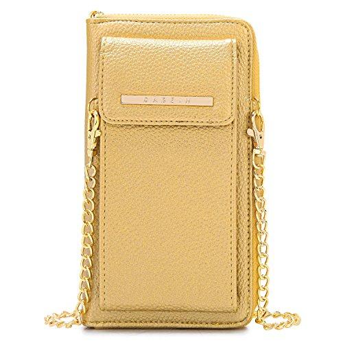 Pouch Evening (Cellphone Wallet Purse Phone Pouch Wristlet Clutch Crossbody Shoulder Bag - 12 Slots)