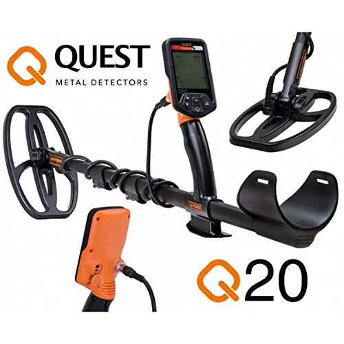 Quest Q20 Gold and Coin Metal Detector
