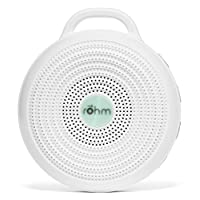 Marpac Rohm Portable White Noise Sound Machine, Electronic, White, 3.7 Ounce