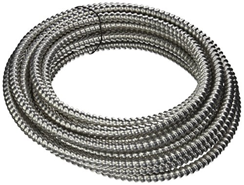 Southwire 68583421 25 ft. 12-3 Solid Armorlite MC Cable
