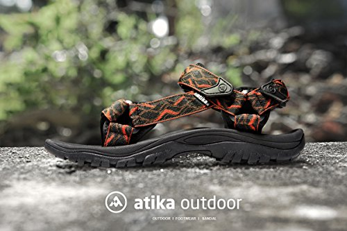 Atika Mens Sandali Sportivi Maya Trail Outdoor Water Shoes M110 / M111 (true To Size) At-m111-wvk