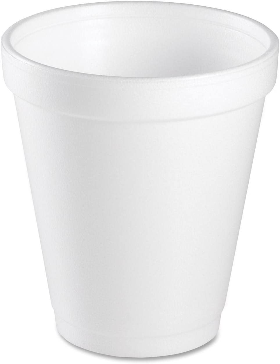 Dart 8 Oz White Disposable Coffee Very popular Foam and Cold C Hot Cups Drink Washington Mall