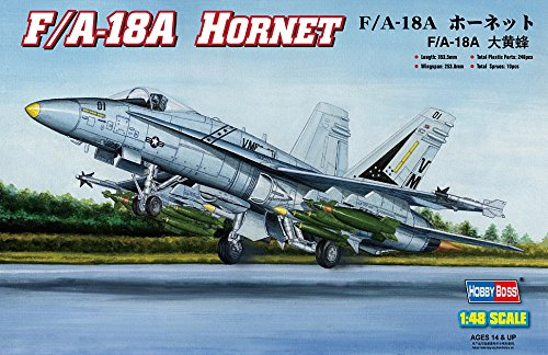 18a Hornet (Hobby Boss HY80320 F/A-18A Hornet Airplane Model Building Kit)