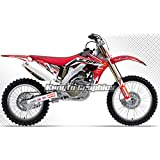 Kungfu Graphics 2006 2007 2008 2009 Honda CRF250R Complete Graphic Decal Kit, CRF Style