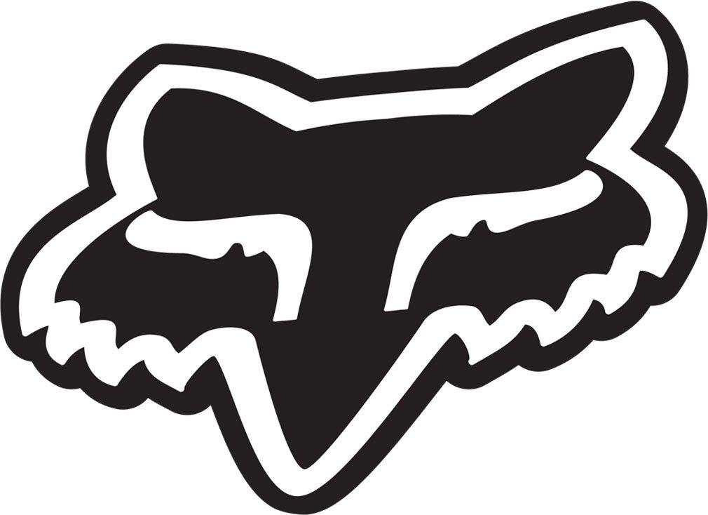 Amazon Fox Racing Fox Sticker Fox Head Black 7 Black