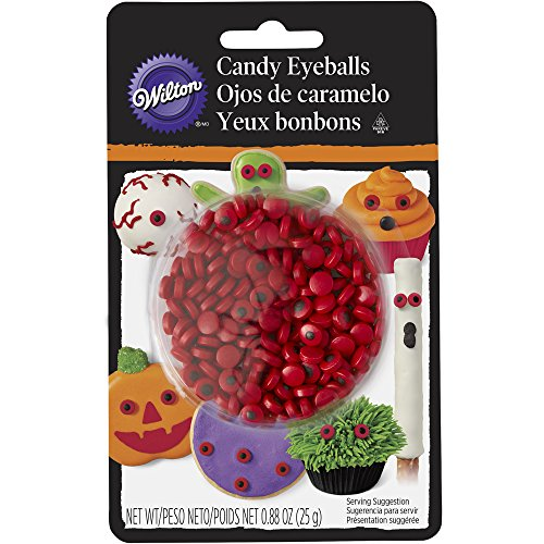 Wilton Red Mini Candy Eyeballs (Monster Halloween Cookies)