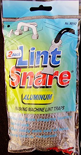 (OMalley 90112 Lint Snare Aluminum Washing Machine Lint Traps 24 (12 Packs of)