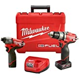 Milwaukee Electric Tool 2597-22 M12 Drill/Driver, 1/2""