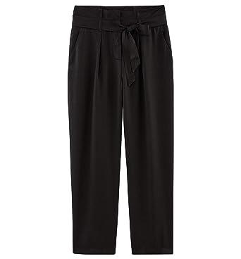 9e0e44069204df Promod Pantalon Taille Haute Femme: Amazon.fr: Vêtements et accessoires