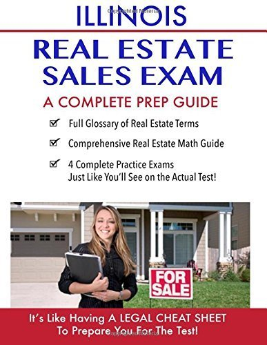 Illinois Real Estate Exam A Complete Prep Guide: Principles, Concepts And 400 Practice Questions by Real Estate Continuing Education (2016-03-07)