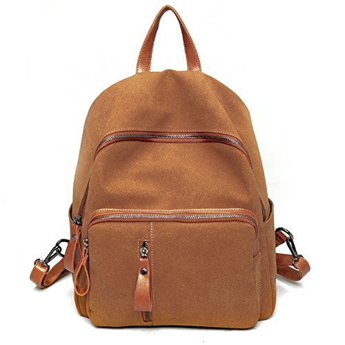 Remeehi - Bolso mochila  para mujer, gris (gris) - JXQ01936-1 marrón