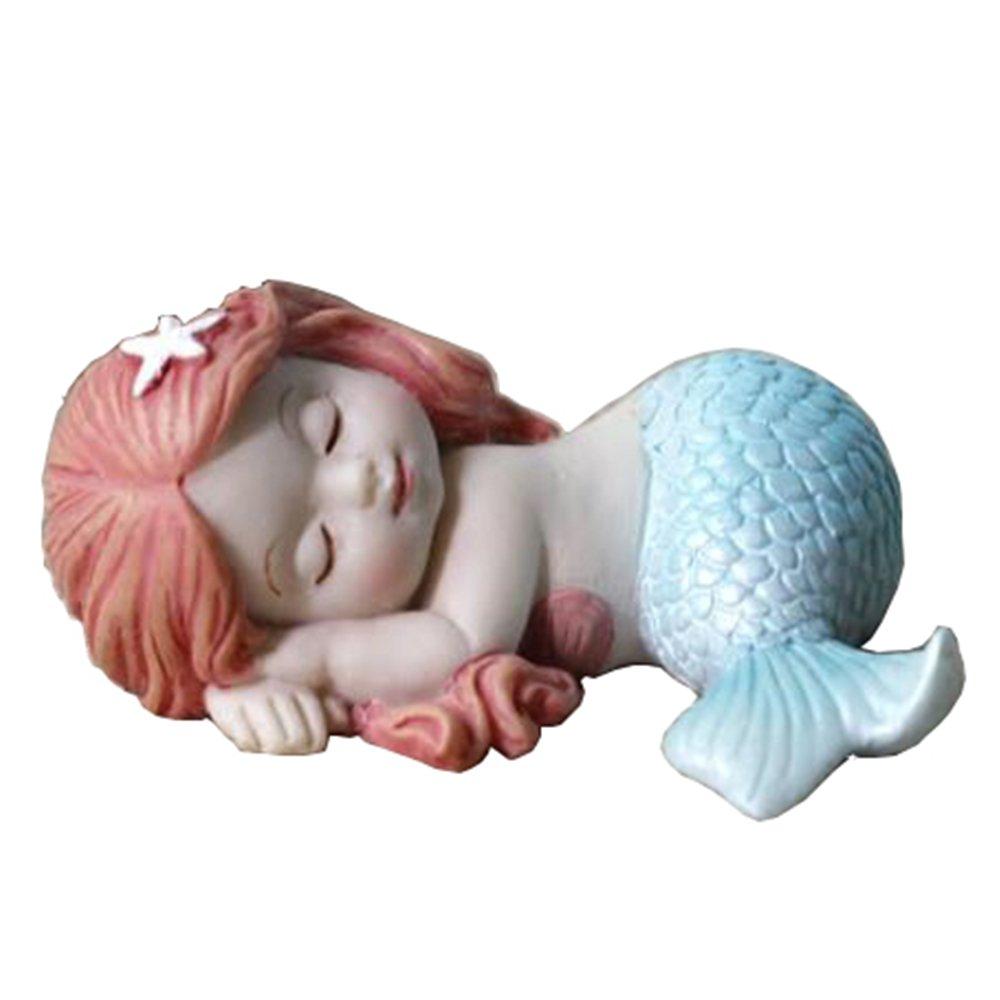 Christmas Fairy Baby Figurine Lovely Resin Baby Statue Christmas Gift Ornaments Miniature Garden, Terrarium, Table or Shelf Décor HomeFairy