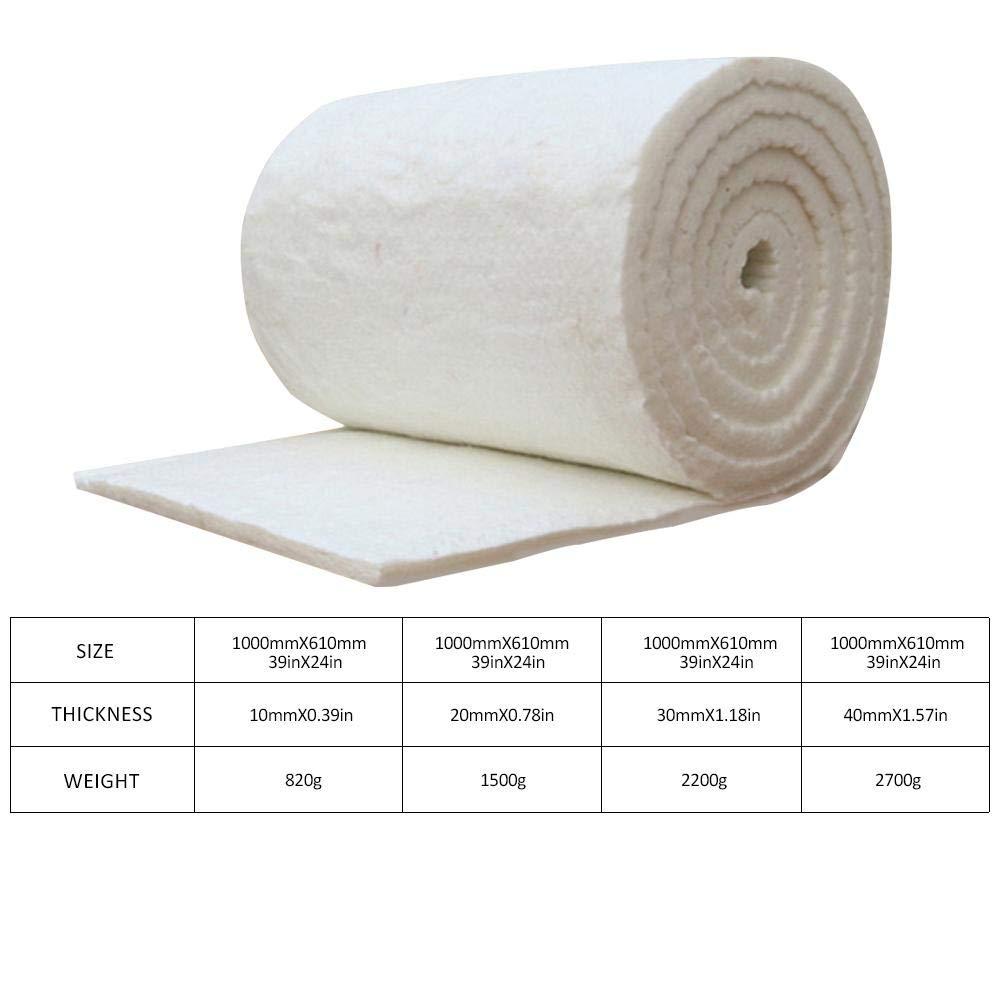 Shantan Ceramic Fibre Blanket Aluminum Silicate high Temperature Insulation Fiber Fireproof Wood stoves fireplaces Needle Boiler Shantan®