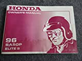 1996 Honda SA50 Owners Manual SA 50 P Elite S