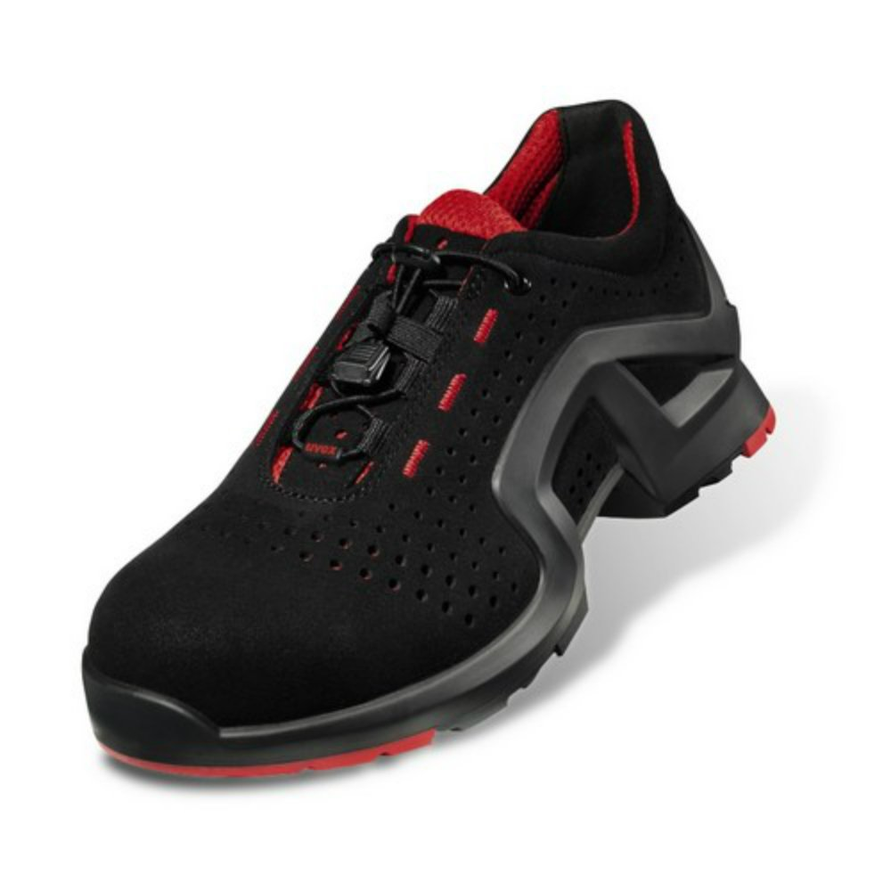Uvex One Safety Trainers. Airport OK. BS EN Level S1 ESD Rated. Smart Modern Style 100% Metal-Free