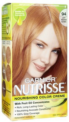 Amazon Com Garnier Nutrisse Hair Coloring 94 Light Reddish Blonde