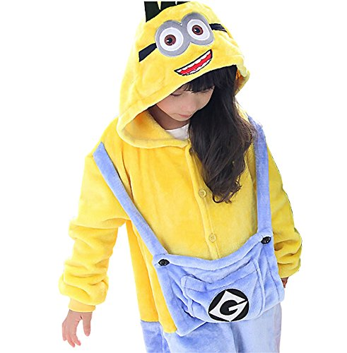 Kid's (Minions Costume For Girl)