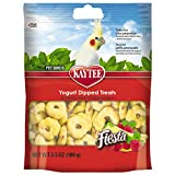 Image of Kaytee Fiesta Strawberry/Banana Flavor Yogurt Dipped Treat for All Pet Birds, 3.5-oz bag
