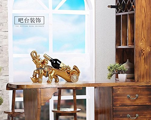 The living room wine wine frame European elephant Home Furnishing opening housewarming ceremony Cup zj01311059