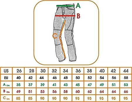 Jeans Femme Denim CE Protections Moto Motard Pants Coton Scooter Lady bleu 26