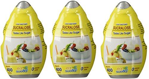 (EZ-Sweetz (3 Pack |1.05oz - Liquid Sweetener 400 Servings/Bottle))