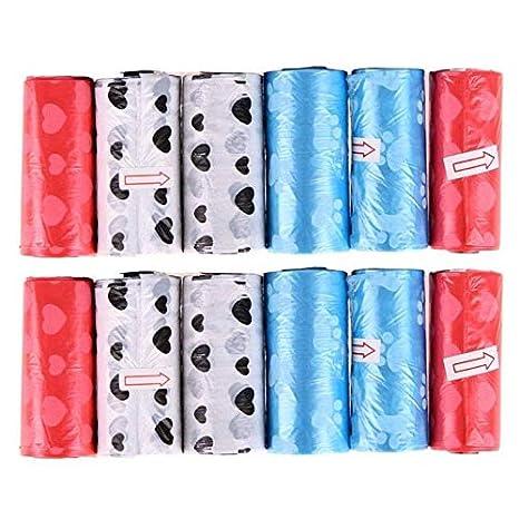Bolsa De 12 Rollos For Perros Bolsa De Caca For Mascotas ...