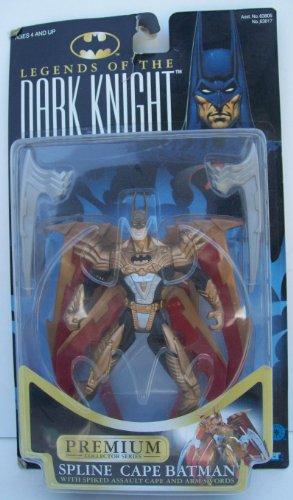 Batman Legends of the Dark Knight Spline Cape Batman Action Figure By (Dark Knight Action Cape)