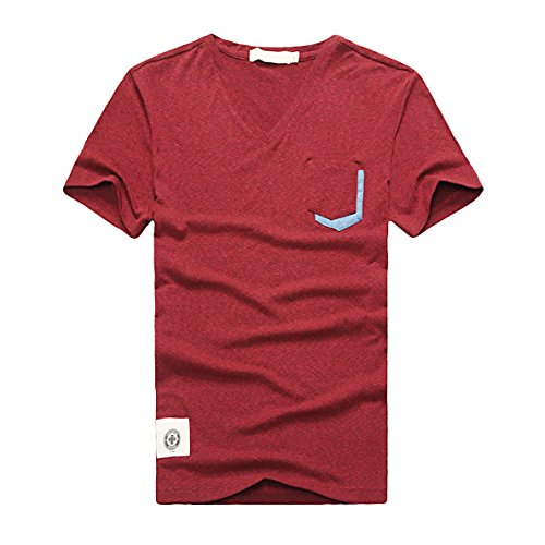 Mens Men's Casual 3/4 Sleeve Baseball Tshirt Jersey Shirt xl ( US 6-10 )