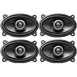(4) MB QUART FKB146 4x6 360 Watt Car Audio Coaxial Speakers